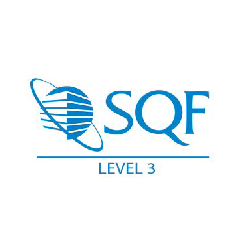 SQF Level 3 Certified