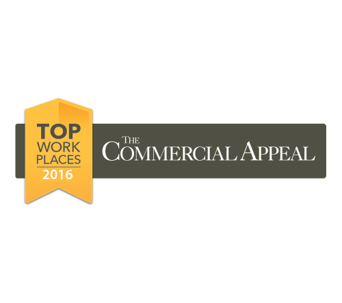 Commercial Appeal Top Work Places 2016