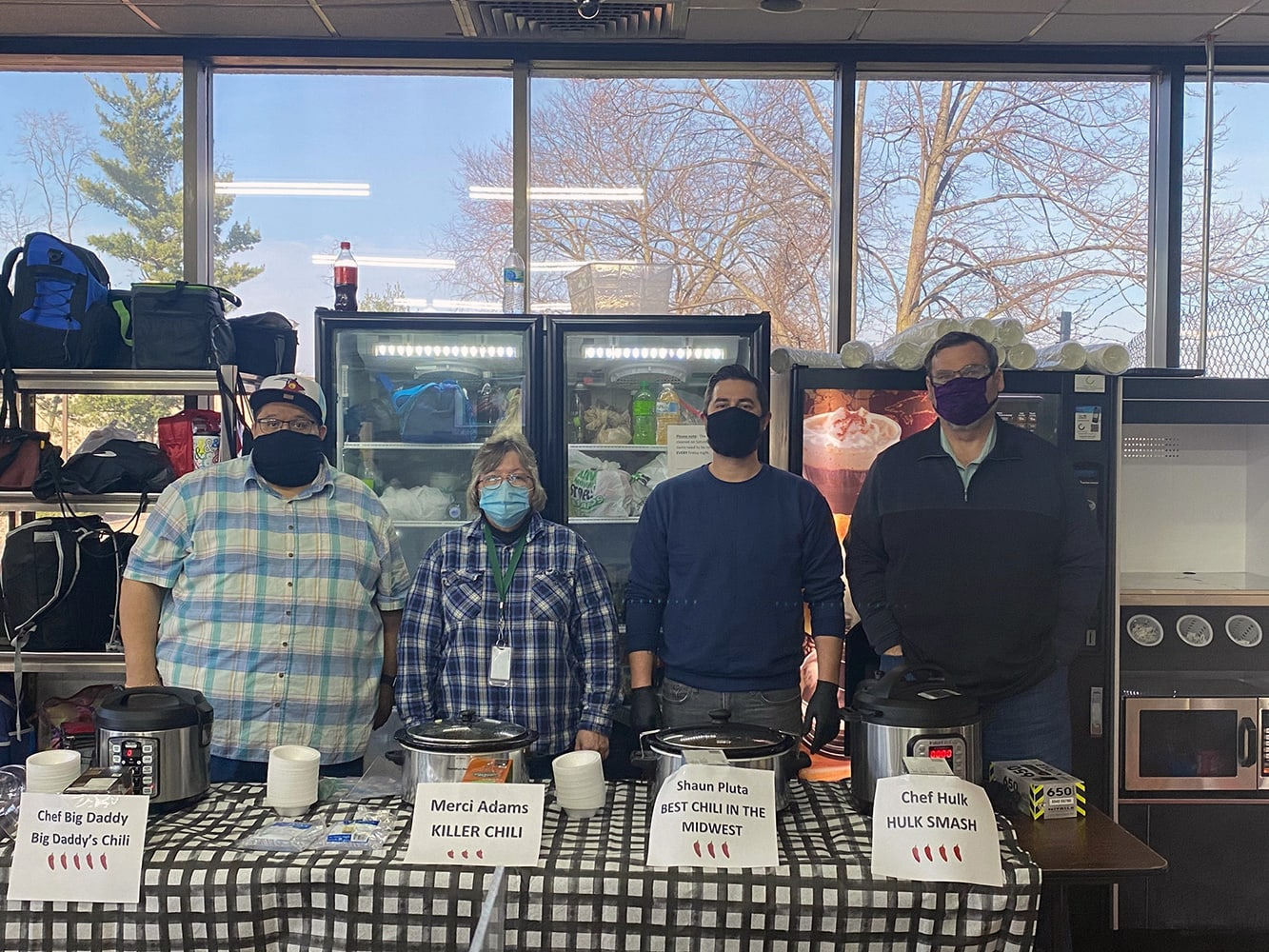 Bristol employees compete in chili cook off