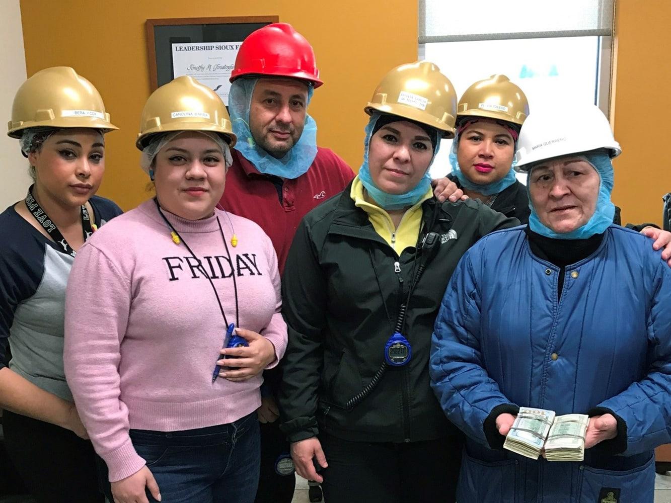 Harlan employees celebrate Maria Guerrero